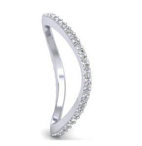 Earthstar Diamonds FR0126 Claw Set Full Eternity Ring in White Gold