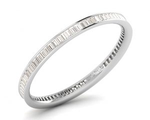Earth Star Diamonds FR07972 Channel Set Full Eternity Ring in White Gold