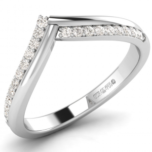 F3.5R1092 Pave Set Diamonds Half Eternity Ring-01