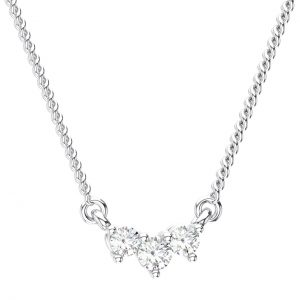 Claw Set White Gold in Round Brilliant Cut Diamond Pendant