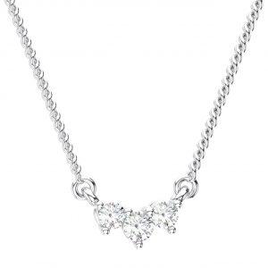 Claw Set White Gold in Round Brilliant Cut Diamond Pendant