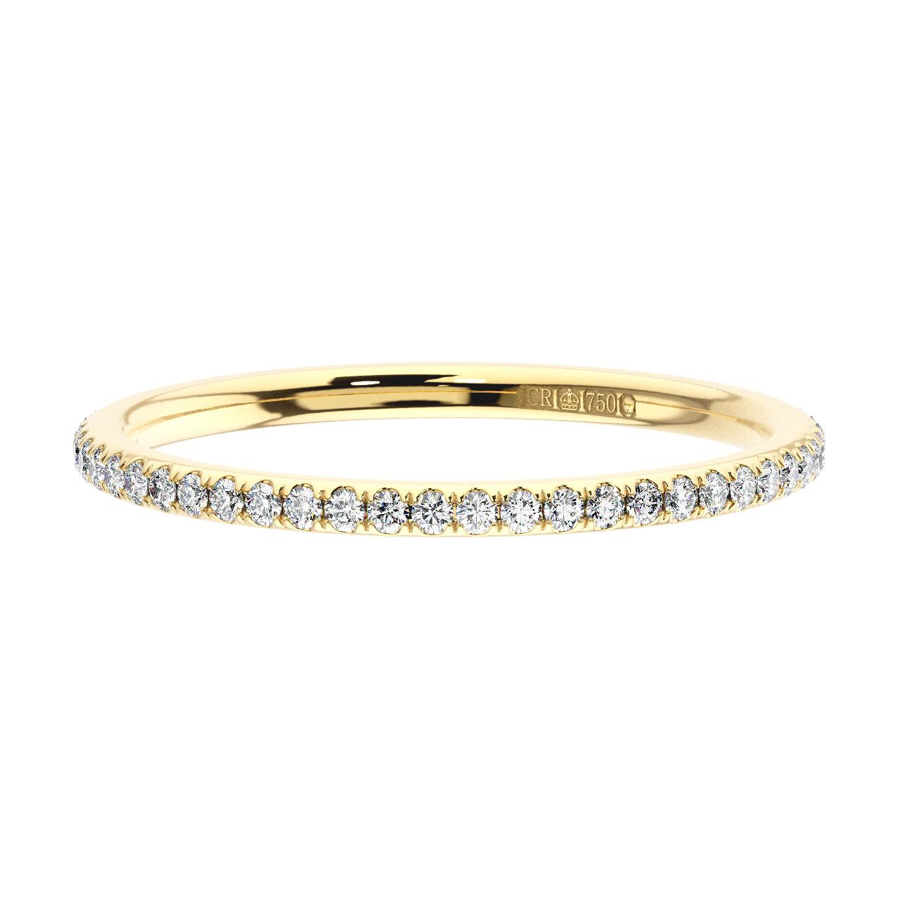 0.25 Carat Round Brilliant Cut Diamonds Full Eternity Ring Avaliable in 9K Gold