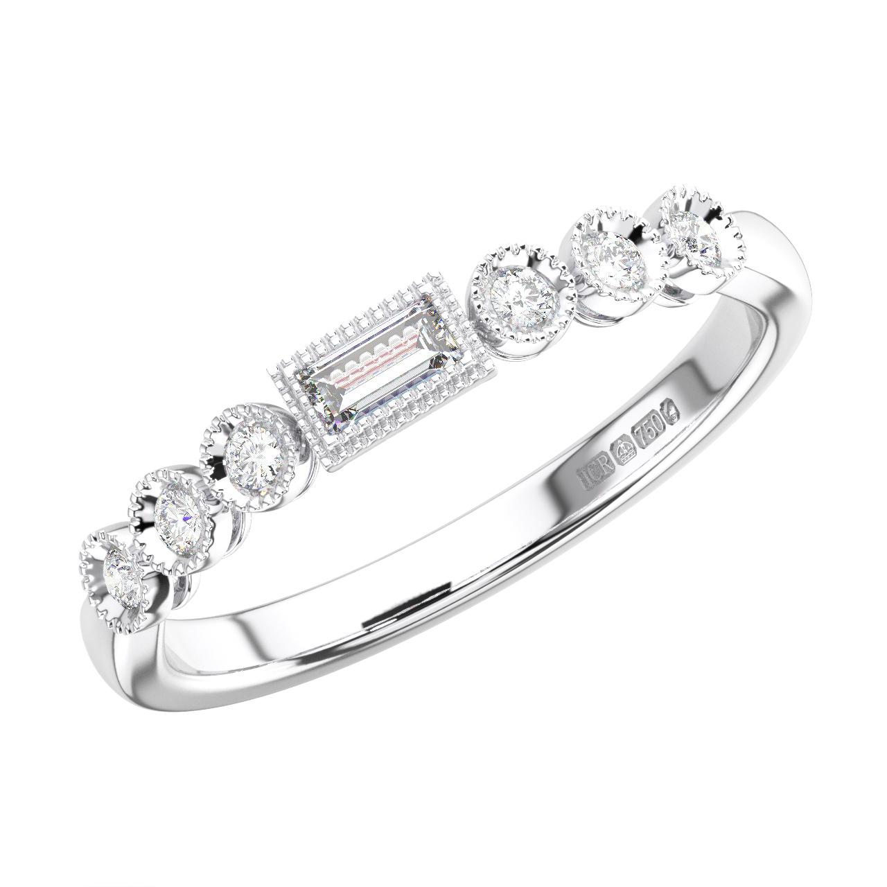 0.20carat Round Brilliant Cut Diamonds Full Eternity Wedding Ring,9K Yellow Gold