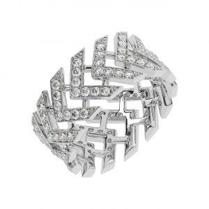FR2048 1.25ct Pave Set Round Brilliant Cut Diamond Full Eternity Ring-1